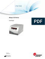 Beckman Coulter - Allegra X-30 Centrifuges - Instructions for use -  B01145AC - December 2015.pdf