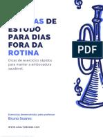 Bruno Soares - Rotinas de Estudo Para Dias Fora Da Rotina