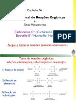 2013_cap06_Intrudução Reações Orgânica e seus mecanismos