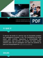 SERVIÇO DE BORDO - Aula