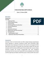 CATATAN ATAS RUU CIPTA KERJA - ICEL 13.02.20.pdf