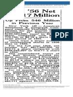 News Article Omaha World-Herald Published as Omaha World-Herald. January 11 1957 p38