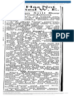 News Article Omaha World-Herald Published as SUNDAY WORLD-HERALD January 13 1957 p20