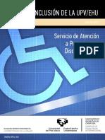 Plan inclusión ALUMNADO UPV