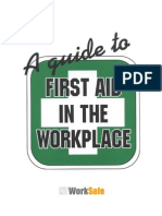 A Guide to First Aid in the Workplace[1]