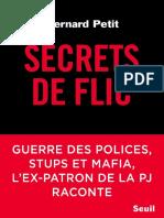 Secrets de flic - Bernard Petit