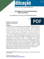Uma nova abordagem da Teoria da Aprendizagem Desenvolvimental_Roberto Valdez Puentes