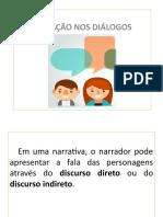 Pontuação Nos Diálogos