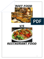 103037133-Street-Food-vs-Restaurant-Survey-Report1.doc