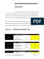 StrategicInternalEnvironmentAnalysis-ROIproject