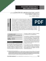 La Presunción de Laboralidad en La NLPT y Su Derrotabilidad - Soluciones Laborales N° 140