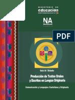 13 Producción de Textos