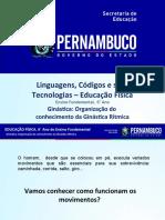 Ginástica Organização do conhecimento da Ginástica Rítmica.ppt