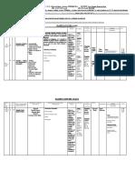 Planificacion PROYECCION GRAFICA 5 Años Primer Lapso