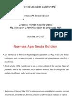 Normas Apa Sexta Edicion 2017