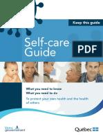 Quebec Coronavirus Self-care Guide