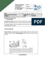 DISEÑO DE GUÍA-TALLER PEDAGÓGICA (1) grado 6