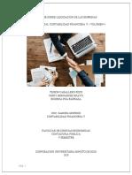INFORME SOBRE LIQUIDACION DE LAS EMPRESAS REVISTA DIGITAL CONTABILIDAD FINANCIERA V - VOLUMEN 4