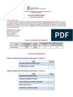 Lista de Espera 2020-1 - Campus Acopiara
