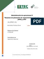 La MRP resumen.docx
