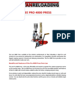 LEE PRO 4000 PRESS