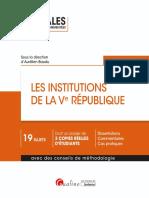L1 - Institutions de la Vème République