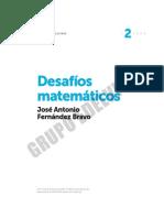 Cuadernos de desafíos matemáticos 2º