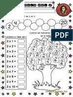 Cuadernillo Tablas de Multiplicar Árbol