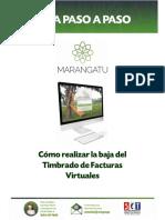 Guia paso a paso Nuevo Marangatu - Cómo  realizar la Baja del Timbrado de Facturas Virtuales