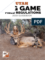 Utah Big Game Field Regulations - Utah Division of Wildlife