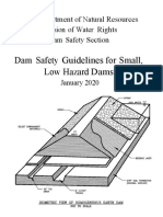 Dam Safety Guidelines for Small, Low Hazard Dams January 2020