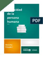 1 - 1 - Capacidad de la persona humana