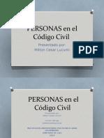 Infografia Personas en el Codigo Civil