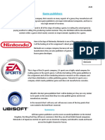 Game Publishers