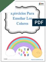 Ejercicios Para Enseñar Los Colores.pdf