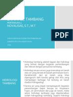 2. HIDROLOGI TAMBANG
