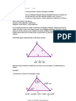Resumos de trigonometria