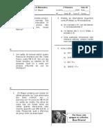 PROVÃO 5ªserie- 4operações.doc