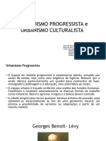 TRABALHO TH3 Urbanismo progressista e culturalista