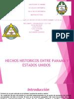 Hechos históricos entre Panamá y los Estados Unidos