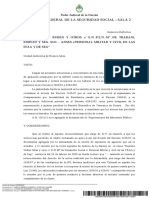 Jurisprudencia 2018 - Benitez, Rubén y Otros c Estado Nacional -P.E.N.