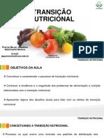 Aula 2 - Transição Nutricional