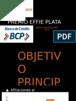 PREMIO EFFIE PLATA BCP bxi