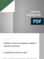 Chp 5 Capital Budgeting