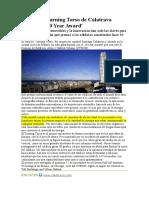 El edificio Turning Torso de Calatrava