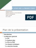 PLANIFICATION DE LA PRODUCTION chapitre troisième