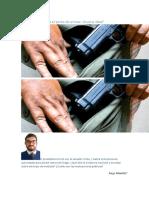 El gobierno facilita el porte de armas