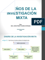 DISEÑOS DE LA INVESTIGACION MIXTA