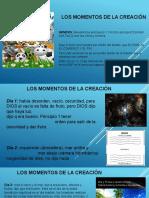 1. LOS MOMENTOS DE LA CREACION