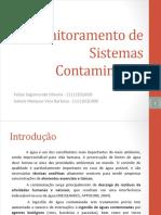 Apresentação Monitoramento de Sistemas Contaminados FINAL